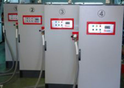 F series pumps for loading high-speed trains